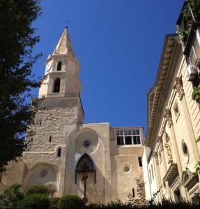 église des Accoules -Panier Vieux-port Marseille